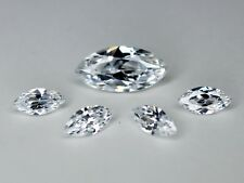 CZ Colorless 7x14mm 4x8mm Marquise Cut Loose AAA Cubic Zirconia Gemstone