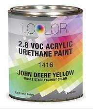 JOHN DEERE YELLOW Gallon Kit Single Stage ACRYLIC URETHANE  Auto Paint Kit
