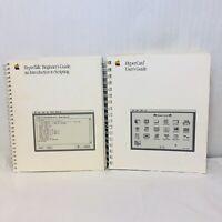 VTG Apple MacIntosh HyperTalk Beginners Guide Scripting HyperCard Users Guide
