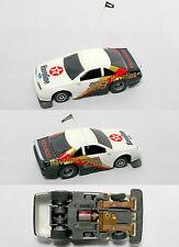 1991 TYCO TCR Slotless Ford Thunderbird Havoline Allison NASCAR FLAGGED Slot Car