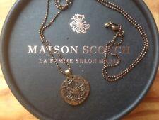 * Tolle Kette von Maison Scotch * Medallion *