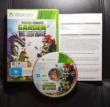 Plants vs Zombies Garden Warfare (Microsoft Xbox 360, 2014) Xbox 360 Game - VGC