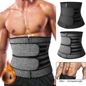 Neoprene Sauna Sweat Waist Trainer Trimmer Slimming Body Shaper Workout Corset