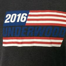 Underwood 2016 T Shirt House of Cards Size S NWT Ships Free