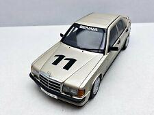 Mercedes Benz 500sl 500 sl plata 1989 r129 roadster solido sp 1:43