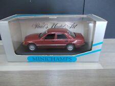 Minichamps 1/43 - Mercedes-Benz 300 D rot (ref 3209) W124