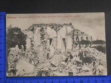 OTTAVIANO NA- ERUZIONE APRILE 1906 CASE DISTRUTTE DALLA PIOGGIA DI LAPILLO 23912