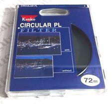 Kenko polarizador filtro lens polarizing polarizer circular 72mm 72 e72 f736