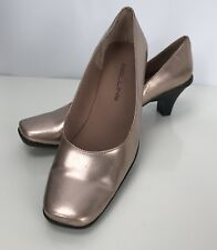 Bellini Wahoo Pumps 8W Heels Shoes Copper Metallic Slip On
