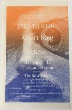 The Byrds, Albert King At Rose Palace Pasadena Handbill 5/16-17/1969