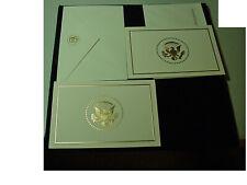 Lot 2 White House Christmas Card President Trump Melania Barron 2017