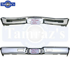 65 Chevelle Malibu El Camino  Front & Rear Bumper Set Triple Chrome Plated New