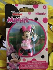 Disney Junior ~ MINNIE Pink Polka Dot Dress Collectible Figure by Just Play NEW