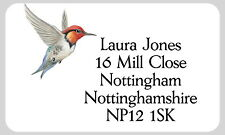 21 personnalisé Gloss de changement d'adresse étiquettes Hummingbird