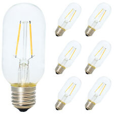 6X E27 T45 2W Antik Edison Retro Glühfaden LED Lampe 2200K Röhrenförmig Form