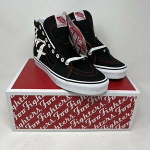 NEW VANS Foo Fighters SK8-HI 25TH Anniversary Men's US Sz 7 8.5 10.5 13 In Hand