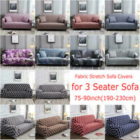 New 3-Seater Sofa Covers Furniture Slipcover Non-slip Stretch Couch Protector