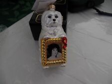Radko Elizabeth Taylor Vintage Aids Foundation Ornament 1998 Sugar Holiday Mib