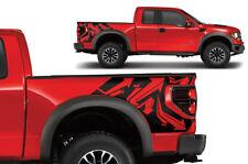 Vinyl Rear Decal Wrap Kit ARROWS for Ford F-150 Raptor SVT Truck 2010-2014 BLACK