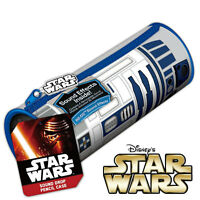 STAR WARS - R2-D2 Droid - Sound Effects Pencil Case - School Pens Stationery