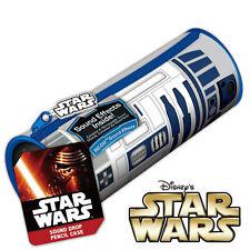 Star Wars-R2-D2 Droid-Estuche efectos de sonido-Escuela Bolígrafos Papelería