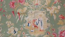 POTTERY BARN NANETTE PALAMPORE FLORAL JAPANESE GARDEN 4PC FULL/QUEEN DUVET SET