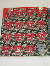 VALENCIENNES   VAFC   Equipe complete 16 Magnets  JUST FOOT 2008  Panini