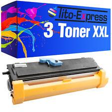 3 Toner XXL ProSerie für Epson EPL-6200 EPL-6200DTN EPL-6200N