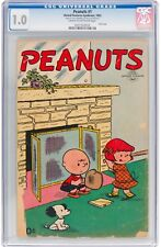 Peanuts #1 CGC 1.0 United Feature 1953 RARE!! Charlie Brown! See Scan! 210 H9 cm