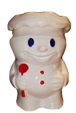 Vintage 1960's McCoy Pillsbury Dough Boy Bobby Baker Cookie Jar #183
