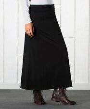 SCK TWO NEW Horny Toad Women/'s Flexcel Ogallalla Long Pencil Knit Skirts Black M