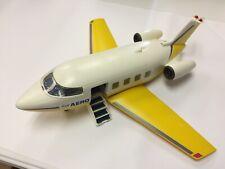 Used Playmobil Aero Line Airplane (3185, 2001) Incomplete, Some Wear / Damage