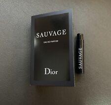 Parfums Christian DIOR SAUVAGE Eau De Parfum EDP 1.0 ml/0.03 oz NIB
