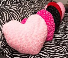 Herzkissen Muttertag Hochzeit Kissen Herz pink