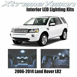 XtremeVision Interior LED for Land Rover LR2 2006-2014 (14 PCS) Cool White