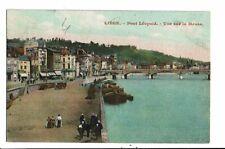CPA-carte postale-Belgique- Liège-Pont Léopold -Vue sur la Meuse -VM16044
