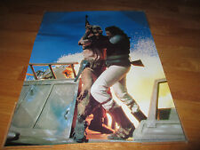 Original 1983 STAR WARS Billy Dee Williams (LANDO CALRISSIAN) Poster