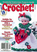 Mrs. Claus Christmas Air Freshener Doll ~ 18+ Holiday Hooked on Crochet Patterns
