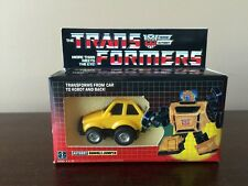 BUMBLEJUMPER PRERUB MINT G1 VINTAGE TRANSFORMER With Custom Box takara Wow