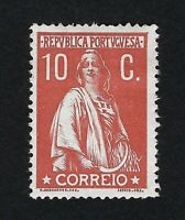 PORTUGAL 1912 CERES 10c  Nº 215 MH