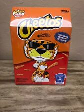 NEW FUNKO POP (GLOW IN THE DARK) CHESTER CHEETAH FIGURE & TEE SIZE Med. CHEETOS