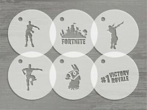 Fortnite Facepaint & Food Stencils