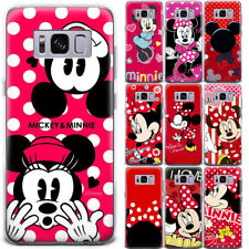 Cartoon Mickey&Minnie Mouse Cute Pattern Phone Case Cover For Samsung and Google