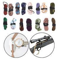 Pistol Rifle ShotGun Cleaning Set Bore Snake Brush .17-.45 cal 12 GA Gun Cleaner