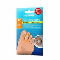 Profoot Corn Cushions 12 Pads | Instant Corn Relief 1 2 3 6 12 Packs
