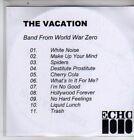 (DE685) The Vacation, Band From World War Zero - DJ CD