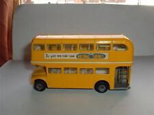 CORGI Routemaster DOUBLE DECKER BUS risparmio nazionale utilizzato in Clean Nizza C PICS