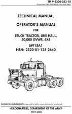 Truck Tractor M915A1 Operator's Manual
