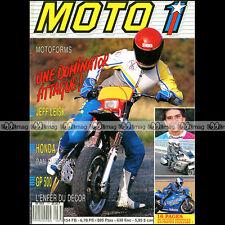 MOTO 1 N°77 JEFF LEISK HONDA ST 1100 BMW R100 GS DAKAR MONET GOYON 175 BROOKLAND