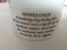 Aromatherapy Dog Healing Balm CALMS IRRITATED SKIN STOPS BACTERIAL GROWTH 100g